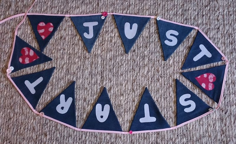 Denim bunting finished pic cropped