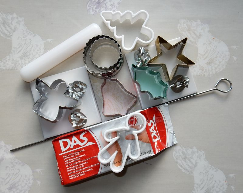 Lu clay Christmas decs what you need