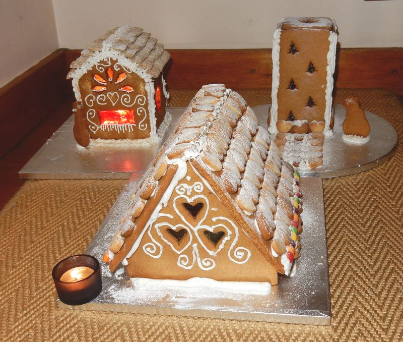Gingerbread finished houses