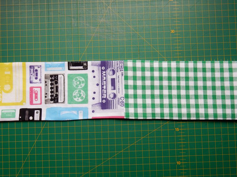 Lu sunglasses case tutorial turned right way round and ironed