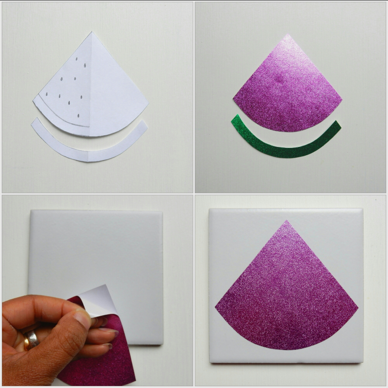 Lu fruity coasters tutorial collage template etc