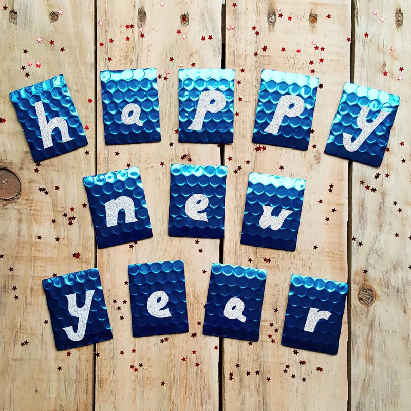 Lu cloud wall hanging tutorial happy new year