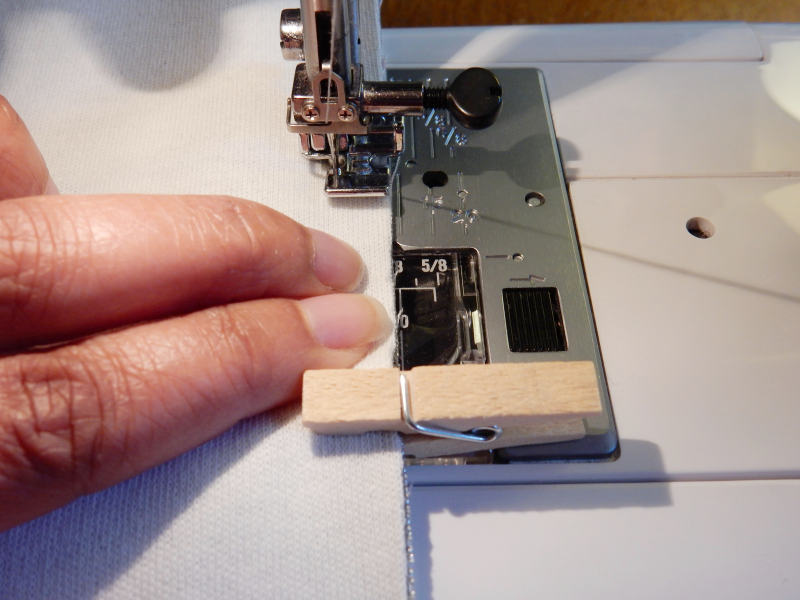 Lu leatherette pouch machine sewing top