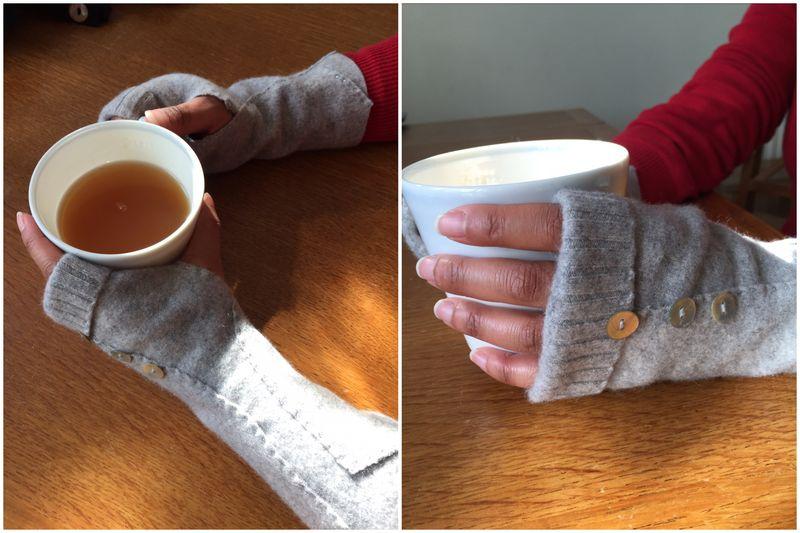 Lu wrist warmers