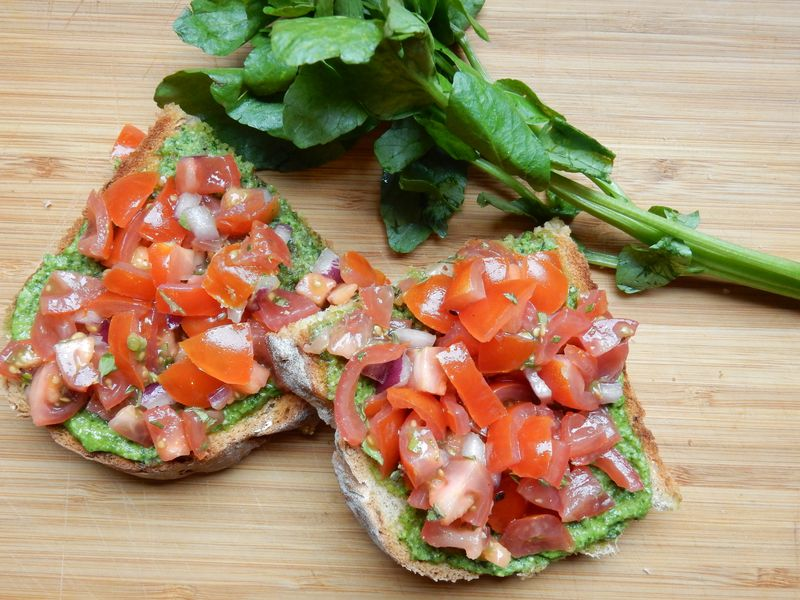Lu Bruschetta or Bust bruschetta