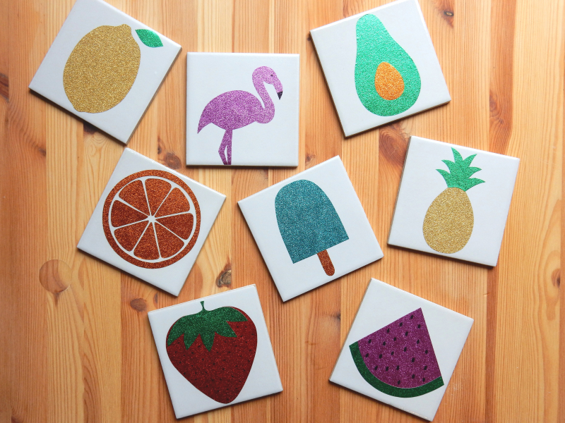 Lu fruity coasters tutorial finished all together