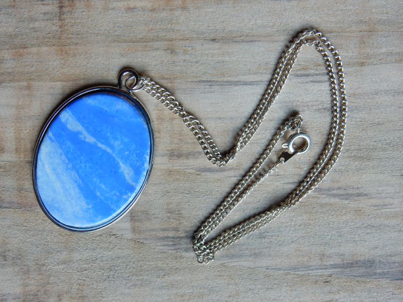 Lu cloud wall hanging tutorial pendant necklace