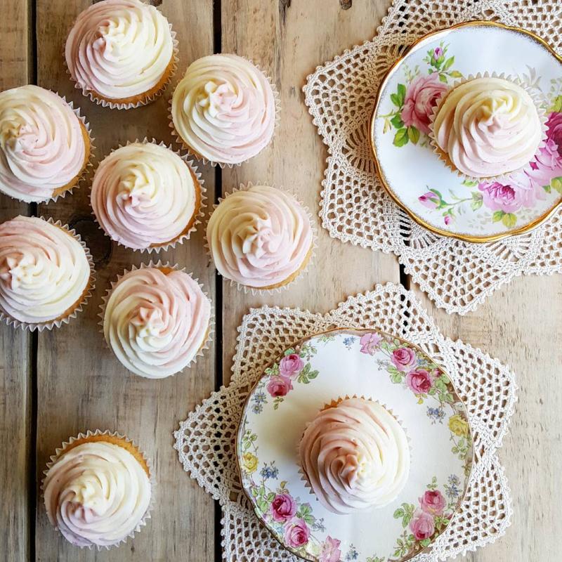 Lu creative happenings vanilla cupcakes