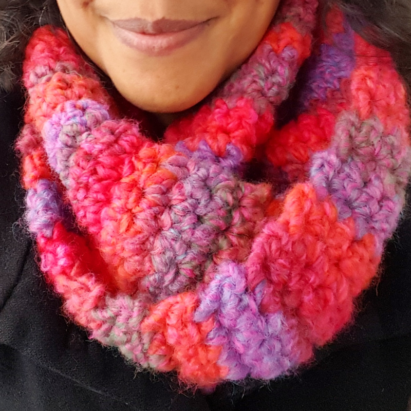 Lu Me and Crochet Cowl 1