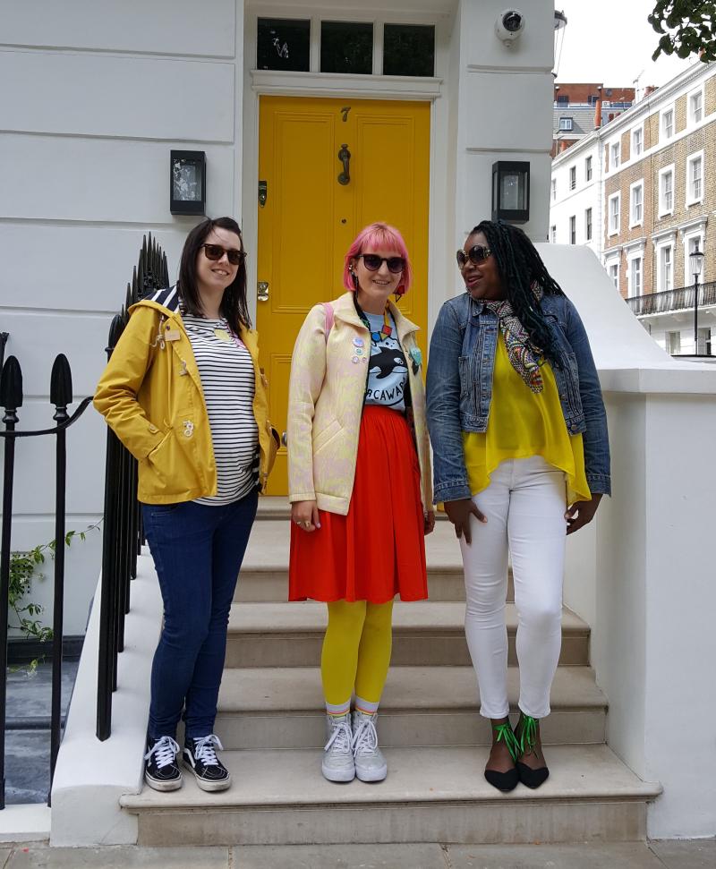 Blogtacular review ladies in yellow