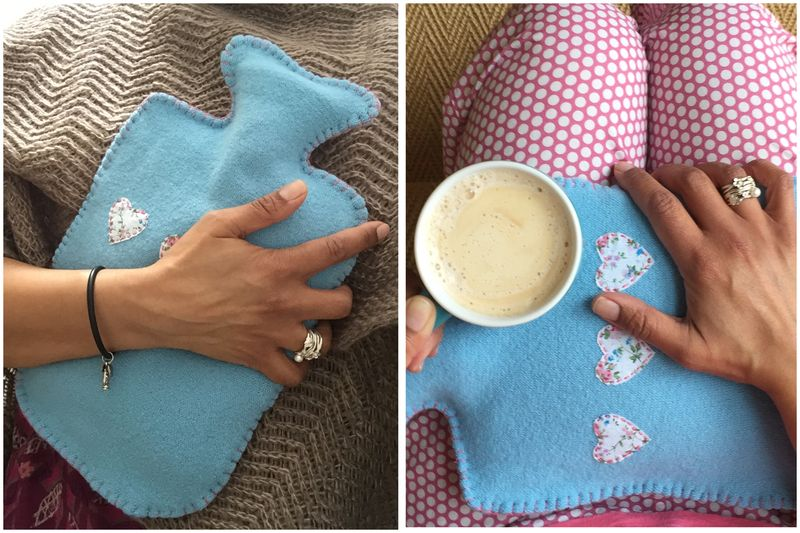 Hot water bottle first pic 2