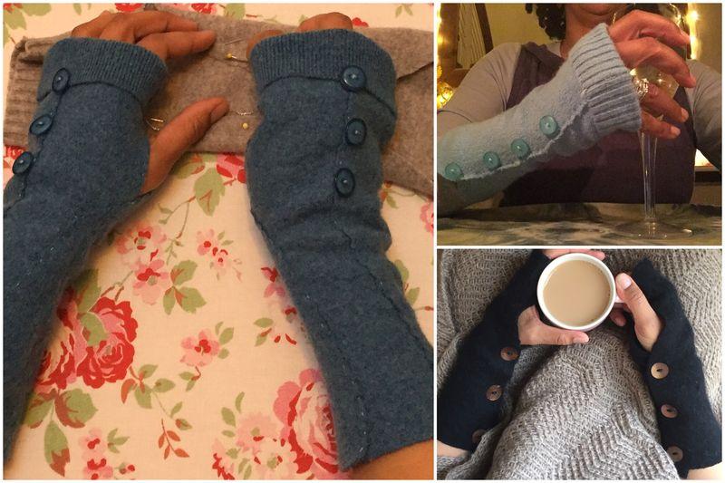 Jenny wrist warmers