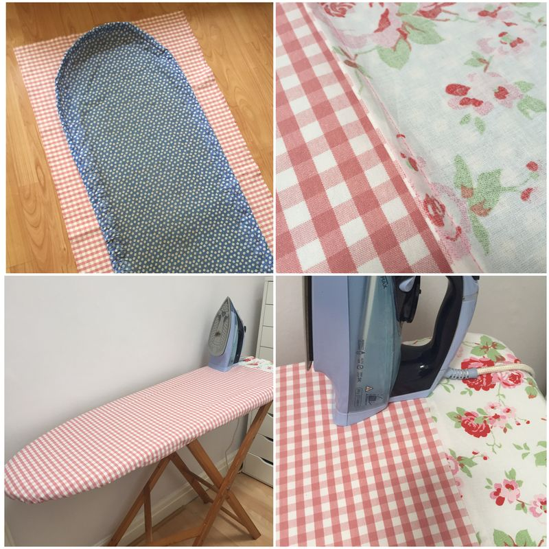 Ironing board finished