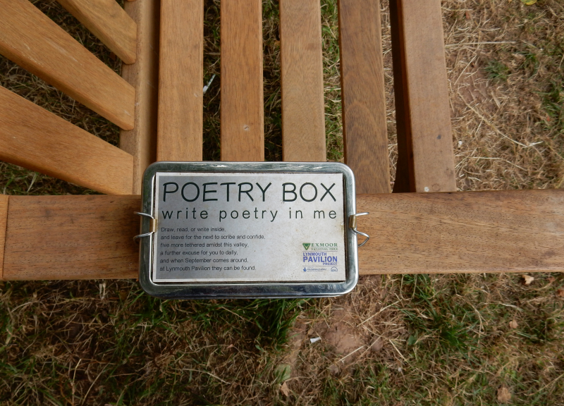 Lu pottering and playing summer poetry box 1