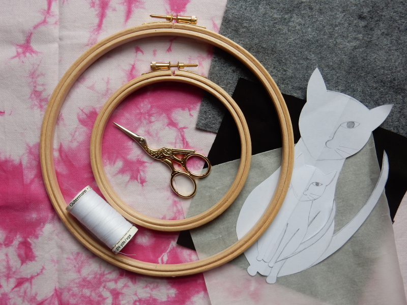 Lu Embroidery Hoop Tutorial What you need is