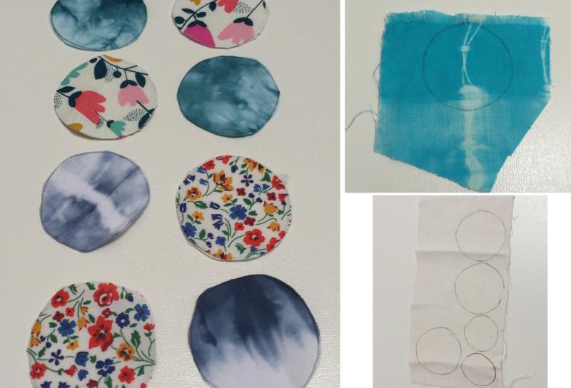 Fabric circles