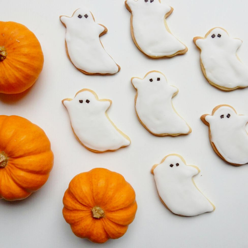 Ghost butter biscuits