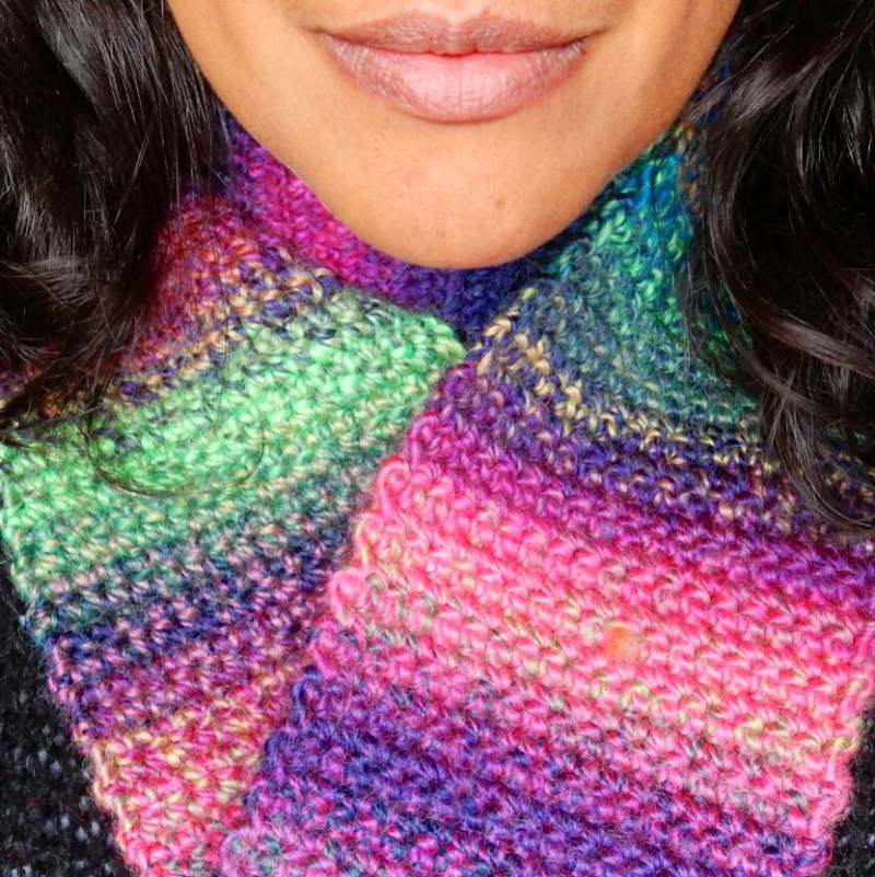 Lu Me and Crochet Cowl 2