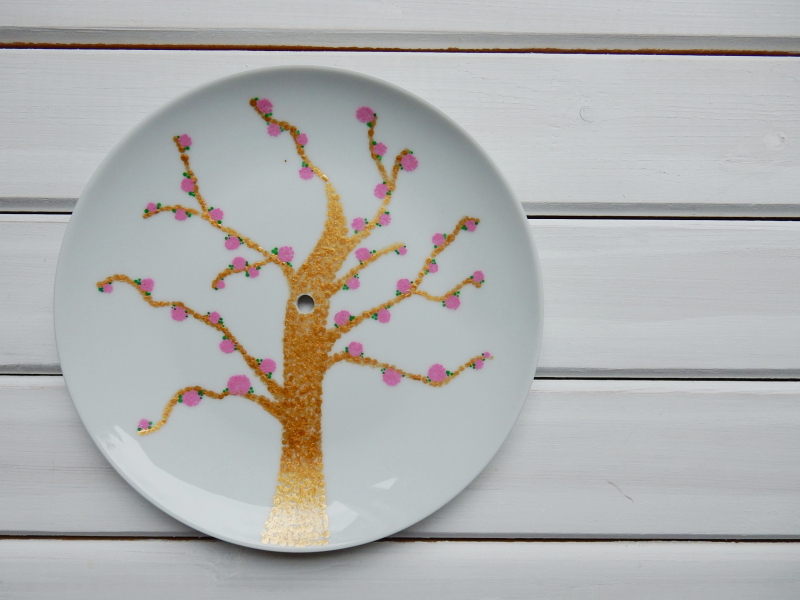Lu cake stand tree finished