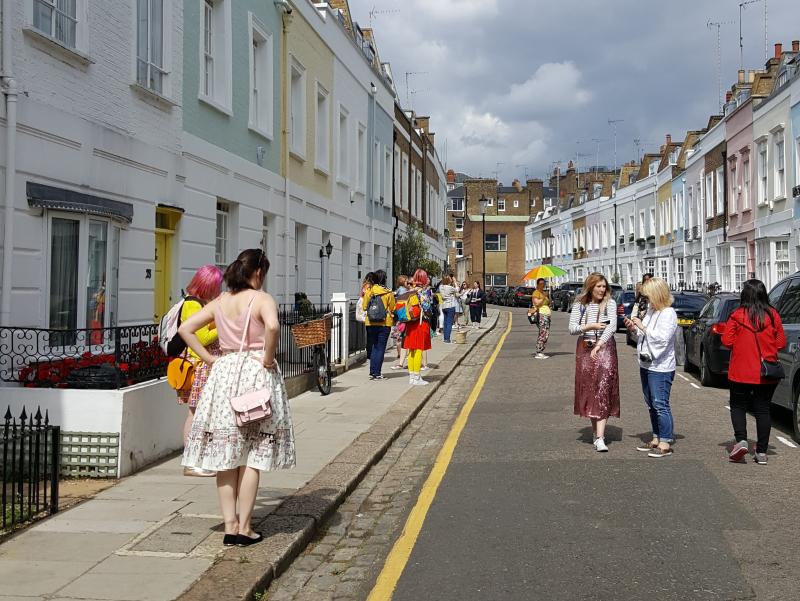 Blogtacular Review ladies down street