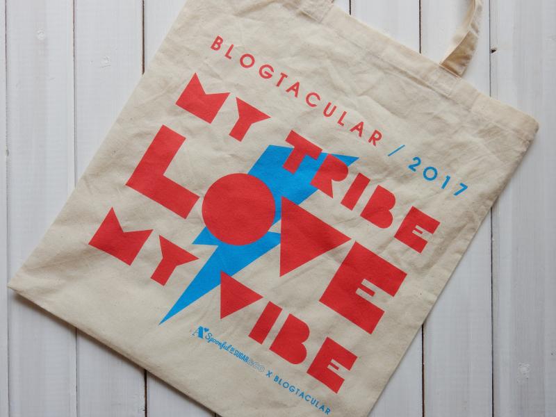 Blogtacular review goody bag
