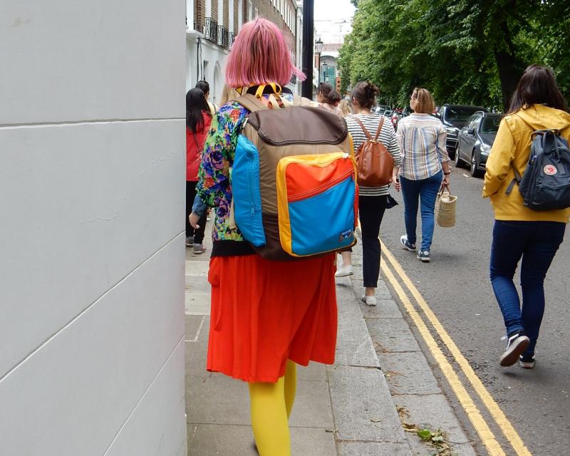 Blogtacular Review backs of walkers